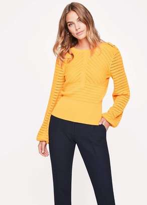 Phase Eight Myron Pointelle Knit Jumper