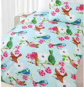 Summer Birds Glow in the Dark Quilt Cover Set