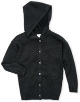 Diesel Boys 4-7) Metallic Knit Hooded Cardigan