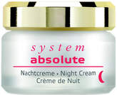 Annemarie Borlind System Absolute Night Cream by 1.7oz Cream)