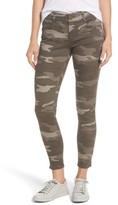 Wit & Wisdom Petite Women's Ab-Solution Camo Stretch Ankle Skinny Jeans