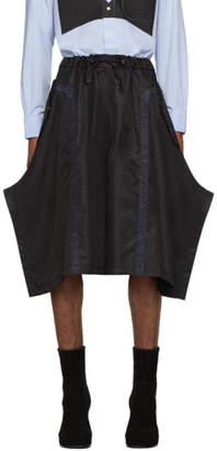 Random Identities Black and Navy Berlin Baggies Shorts