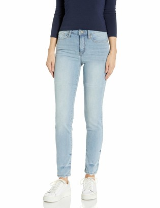 William Rast Women's High Rise Slim Straight Jean