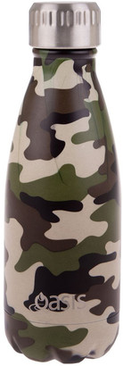 Oasis Stainless Steel Double Wall Insulated Drink Bottle 350ml - Camo