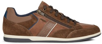 Geox Renan Leather Trainers