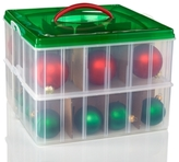 Snapware Snap n Stack 12x12 Ornament Keeper, 2 layer