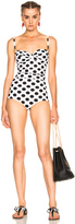 Dolce & Gabbana Polka Dot One Piece