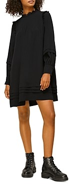 Whistles Pintuck Mini Dress
