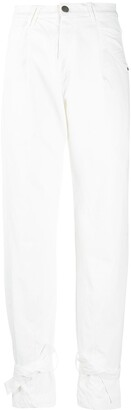 FEDERICA TOSI High-Waisted Tapered Trousers