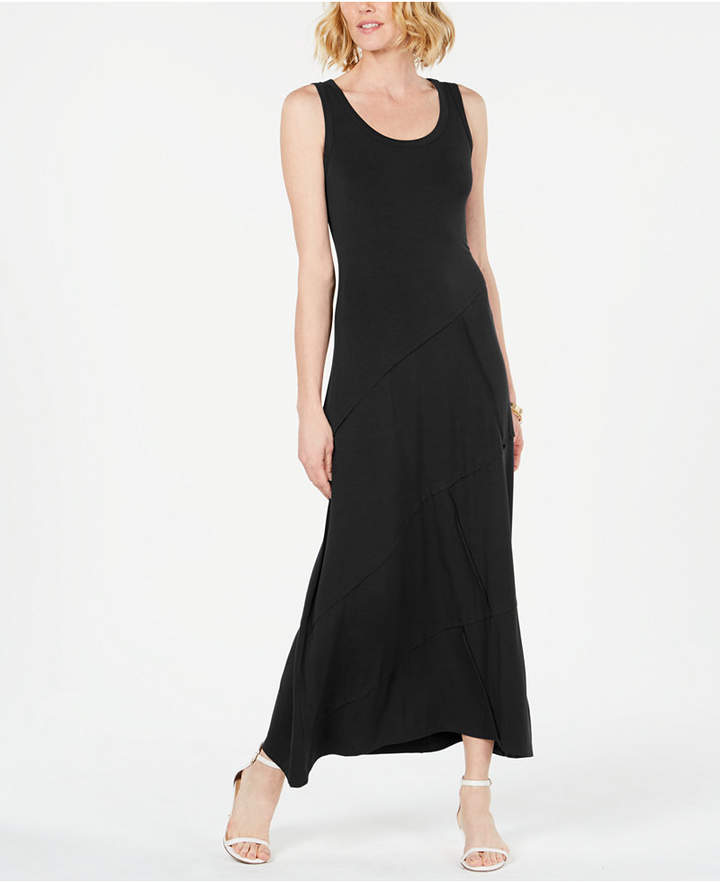20102824813 Petite Black Maxi Dress - ShopStyle