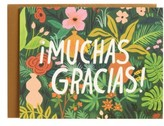 Rifle Paper Co. Muchas Gracias Set Of 8 Thank You Notes - Green