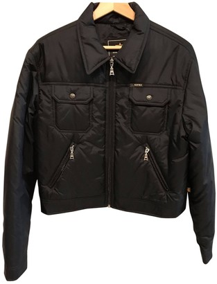 Alpha Industries Black Synthetic Jackets