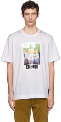 Fendi White Freedom T-Shirt