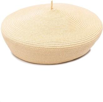 Emporio Armani Woven Beret Hat