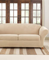 Sure Fit Stretch Pique 2 Cushion Sofa Slipcover Bedding