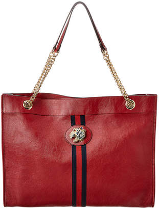 Gucci Rajah Large Leather Tote