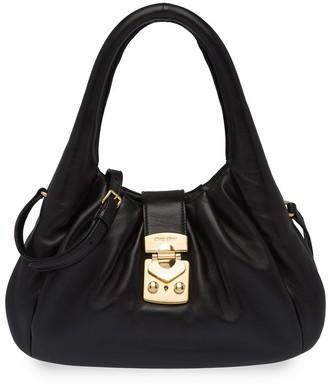 Miu Miu Front-Clasp Shoulder Bag
