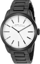 Marc by Marc Jacobs Men's MBM5089 Dillon Analog Display Analog Quartz Black Watch