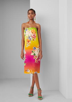 Ralph Lauren Zadie Silk Sarong Dress