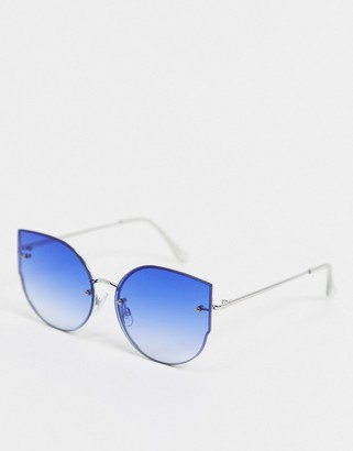 Jeepers Peepers blue tint sunglasses