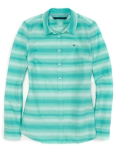 Tommy Hilfiger Final Sale-Long Sleeve Sunset Stripe Shirt