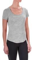 Apana Yoga Essential T-Shirt - Short Sleeve (For Women)