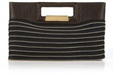 Urban Rock Zipper Cutout Handle Clutch