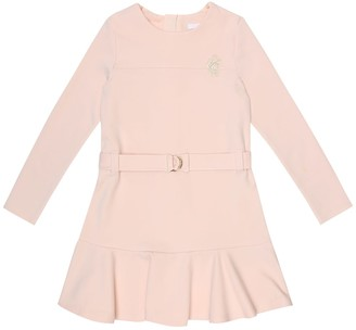 Chloé Kids Stretch-cotton dress