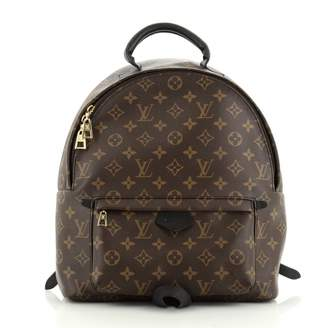 Louis Vuitton Palm Springs Brown Polyamide Backpacks