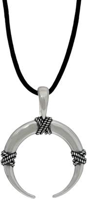 """American West Sterling Silver Naja Enhancer with 32"""" Cord"""