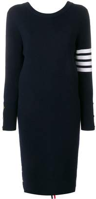 Thom Browne Front-to-Back Cardigan Dress
