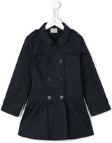 Armani Junior double breasted coat - kids - Cotton - 4 yrs