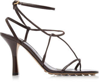Bottega Veneta Leather Strappy Heeled Sandals