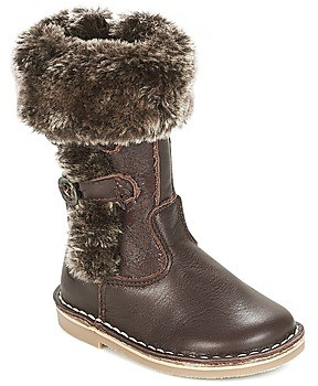 Citrouille et Compagnie JOSY girls's High Boots in Brown