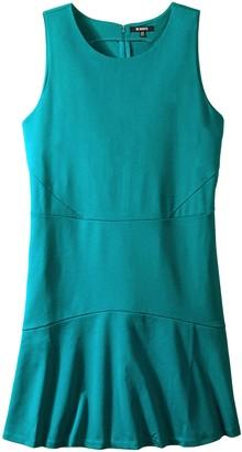 BB Dakota Women's Plus-Size Hallows Ponte Fit and Flare Dress