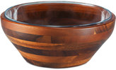 Picnic Time Heritage Collection by Fabio Viviani Large Acacia Wood Nesting Bowl