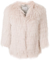 Yves Salomon concealed fastening jacket