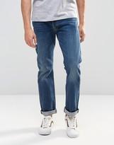 Levis Levi's 501 Original Straight Jeans State Mid Wash