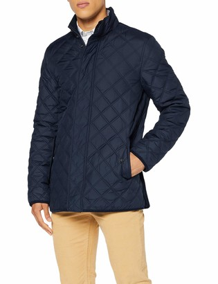 Brooks Brothers Men's Quilted Walking Coat
