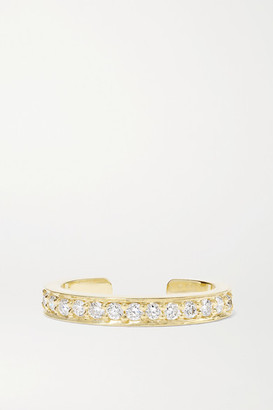 Anita Ko 18-karat Gold Diamond Ear Cuff - one size