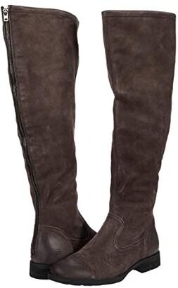 Børn Borman (Black Distressed) Women's Boots