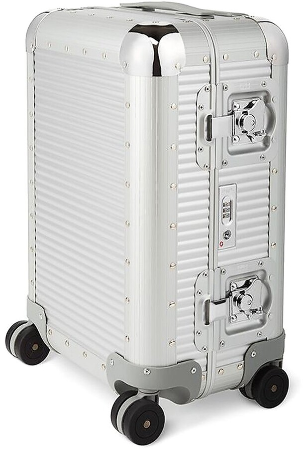 Thumbnail for your product : FPM Milano 53 Bank S Moonlight Silver Cabin Spinner Carry-On Suitcase