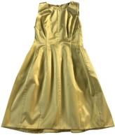 Ermanno Scervino Yellow Silk Dress for Women