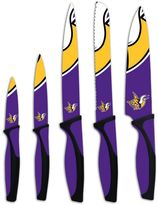 Minnesota Vikings 5-Piece Cutlery Knife Set
