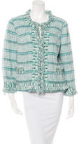 Tory Burch Tweed Embellished Jacket