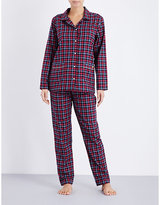 Tommy Hilfiger Holiday checked flannel pyjama set
