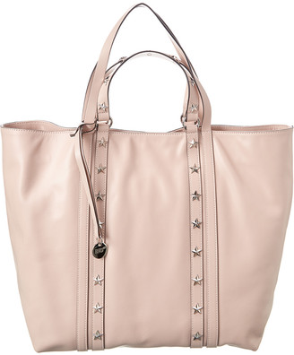 RED Valentino Sky Combat Leather Tote
