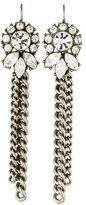 Ben-Amun Ben Amun Crystal & Chain Drop Earrings