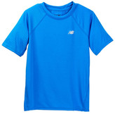 New Balance Short Sleeve Printed Performance Tee (Big Boys)