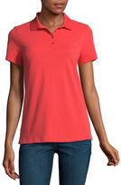 ST. JOHN'S BAY St. John's Bay Short Sleeve Knit Polo Shirt - Talls